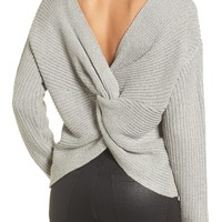 Twist back sweater | Nordstrom