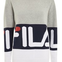 Crew Neck Sweater by Fila - New In Fashion - New In