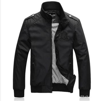 Man Jacket Sportswear College Mens Polo Jackets And Coats Men Windcheater Military Clo