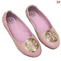 Tory Burch Fashion New Egg Roll Leisure Metal Logo Shoes Women 5#