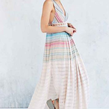 Ecote Sanibel Rainbow Maxi Dress