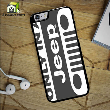 Classic Jeep Wrangler Logo iPhone 6S Case by Avallen