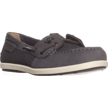 Sperry Top-Sider Coil Ivy Boat Shoes, Dark Grey, 7 US / 37.5 EU