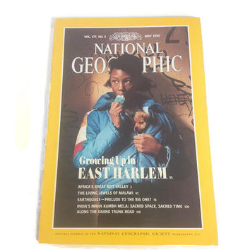 National Geographic, National Geographic Magazine May 1990