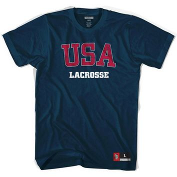 USA Lacrosse T-shirt