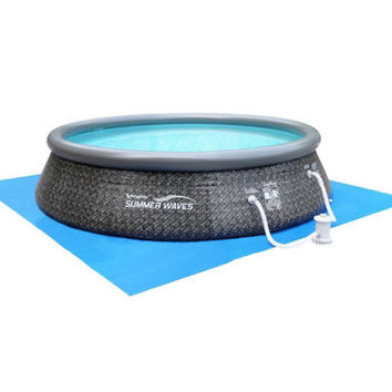 Quick Set Inflatable Instant 12' Swimming Pool — QVC.com