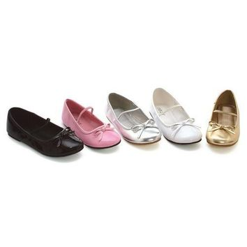 "0"" Heel Ballet Slipper Childrens."