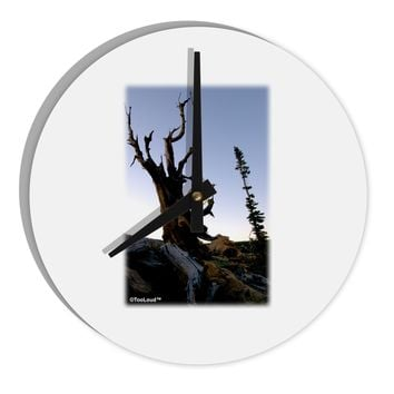 "Colorado Mountain Scenery 8"" Round Wall Clock  by TooLoud"