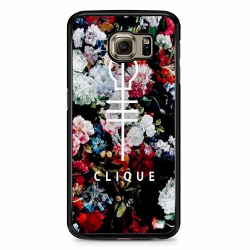 Twenty One Pilots Skeleton Clique 2 Samsung Galaxy S6 Edge Case