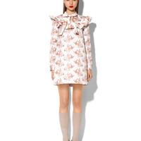 """DUCHESSE DRESS WITH """"CHIHUAHUA PUPPY"""" PRINT"""