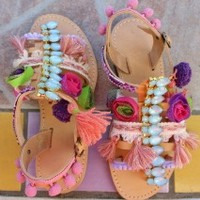 Amorgos - Handmade Greek sandalsLeather handmade sandals