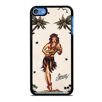 SAILOR JERRY S HULA GIRL 2 iPod Touch 7 Case