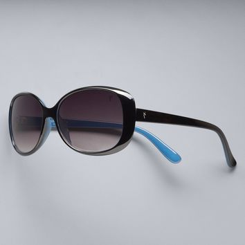 Simply Vera Vera Wang Mask Midsize Rectangle Sunglasses