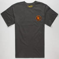 Anti Hero League Of Nothing Mens T-Shirt Charcoal  In Sizes