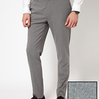 ASOS Skinny Fit Smart Trousers at asos.com