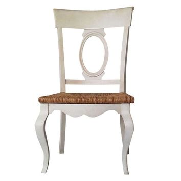 Pre-owned French Country Dining Chairs - Set of 4