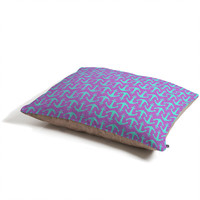 Allyson Johnson Purple Anchors Pet Bed