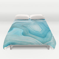 THE BEAUTY OF MINERALS 3 Duvet Cover by Catspaws