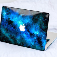 Blue Nebula MacBook Decal Skin MacBook decal sticker MacBook Pro Retina Cover MacBook Air Acer Asus Dell HP Lenovo Chromebook Samsung