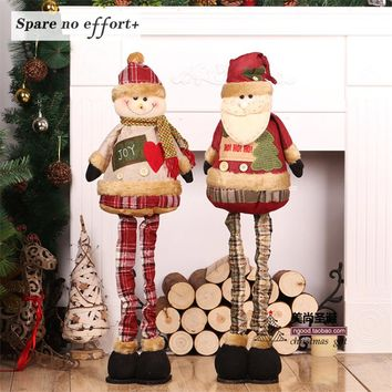 Christmas Santa Claus toys creative Christmas Gift Boy Girl Toy home Holiday decoration Christmas Decorations for Home