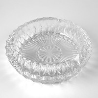 Large Vintage Crystal Ashtray