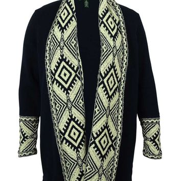 Ralph Lauren Women's Open Front Cardigan Sweater