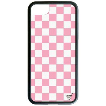 Pink Checkers iPhone 6/7/8 Case