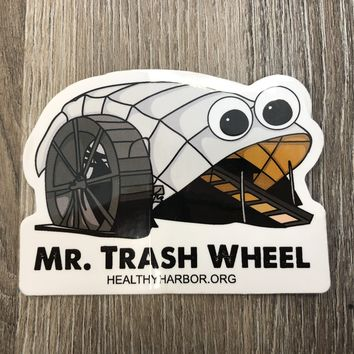 Mr. Trash Wheel / Sticker