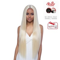 "SWISS LACE FRONT, 6"" DEEP CENTER PART- LONG STRAIGHT 32"" (LSD60)"