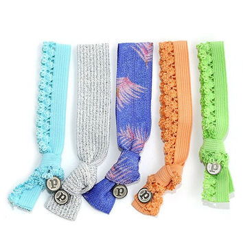 Pura Vida - Tropic Blue Hair Ties