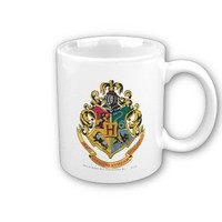 Hogwarts Crest Full Color Coffee Mugs from Zazzle.com
