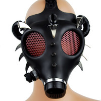 Devil Horn Spike Industrial Gas Mask