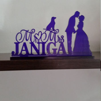 Custom wedding cake topper,Unique wedding cake topper,Rustic wedding cake topper,Funny wedding cake topper,Personalized wedding cake topper