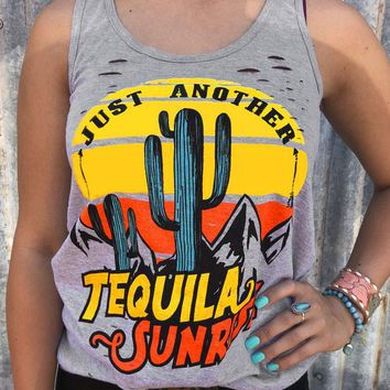 Just Another Tequila Sunrise, Tank Top
