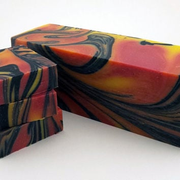 Handmade Olive Oil Soap - Gobi Gold - Sweet Citrus with hints of Patchouli