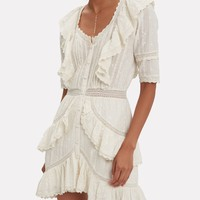 Lela Ruffle Dress