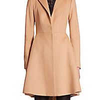 Alice + Olivia - Nikita Fit-and-Flare Peacoat - Saks Fifth Avenue Mobile