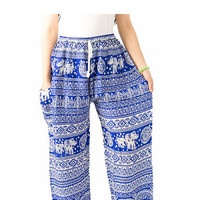 Tribal clothes/Summer clothes/hippie clothes/elephant pants/Harem pants/fashion summer/bohemian pants/bangkok pants/Yoga pants/boho pants