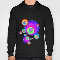 Colorful Secret Geometry | painting by Elisavet #society6 Hoody by Azima