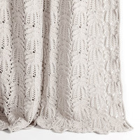 Openwork Cotton Throw | ZARA HOME United States of America
