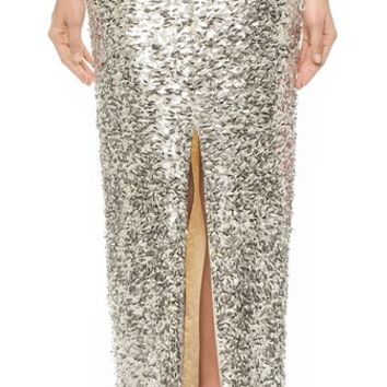 By Malene Birger Sympha Sequin Skirt