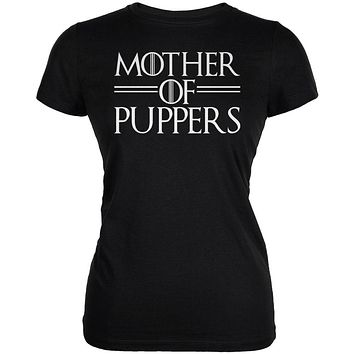Mother of Puppers Juniors Soft T Shirt