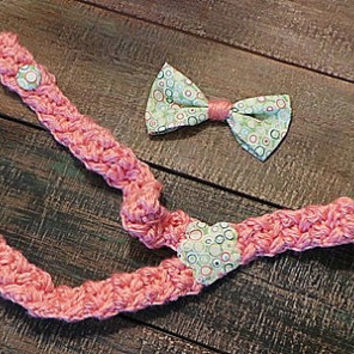 Adjustable baby girl suspenders; pin back bow; 0-24 months; front button adjustable. Pin-back bow; pin to headband, shirt, dress or hat