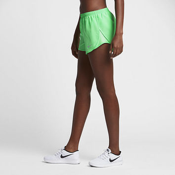 "The Nike Dry Modern Tempo Women's 3"" Running Shorts."