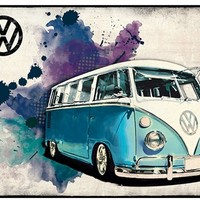 VW Bus Wall Art