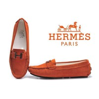 Hermes Women Fashion Flats Shoes Dancing Shoes-2