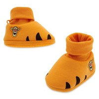 Licensed cool Disney Store Tigger Tiger Baby Costume Shoes Slippers Pooh friend 18-24M NWT