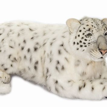 Hansa Large Siberian Snow Leopard Stuffed Animal