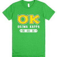 Oozma Kappa: We're Okay!-Female Grass T-Shirt