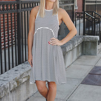 Desert Oasis Dress - Striped